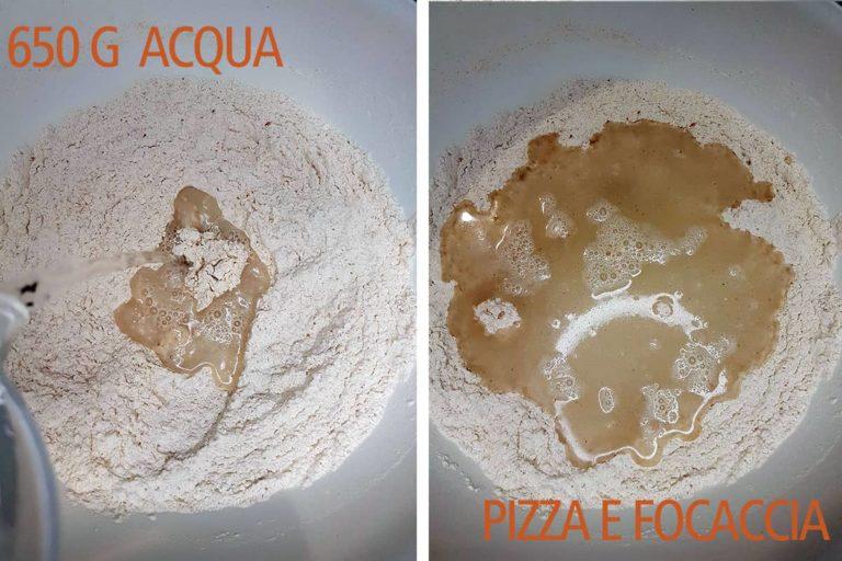 pizza bonci 650 acqua