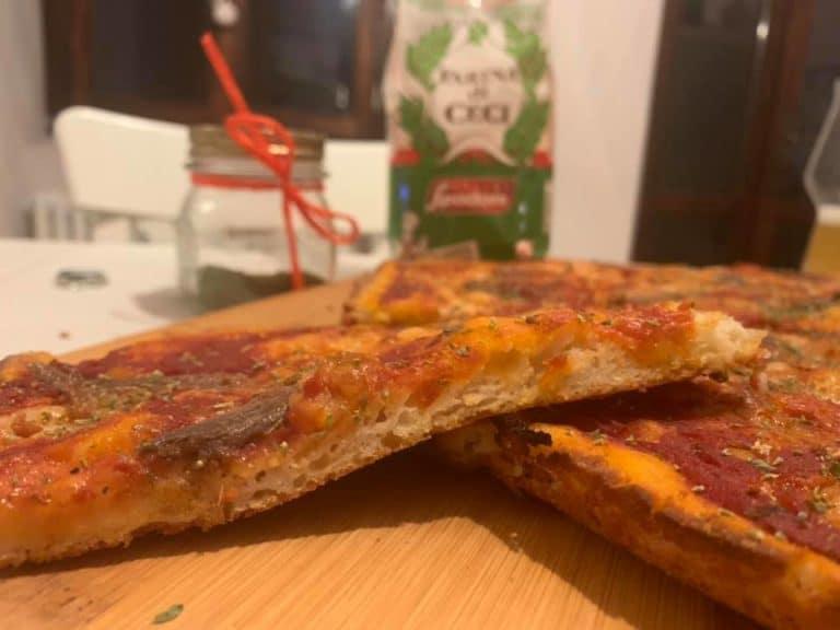 Pizza Senza Glutine Teglia 01