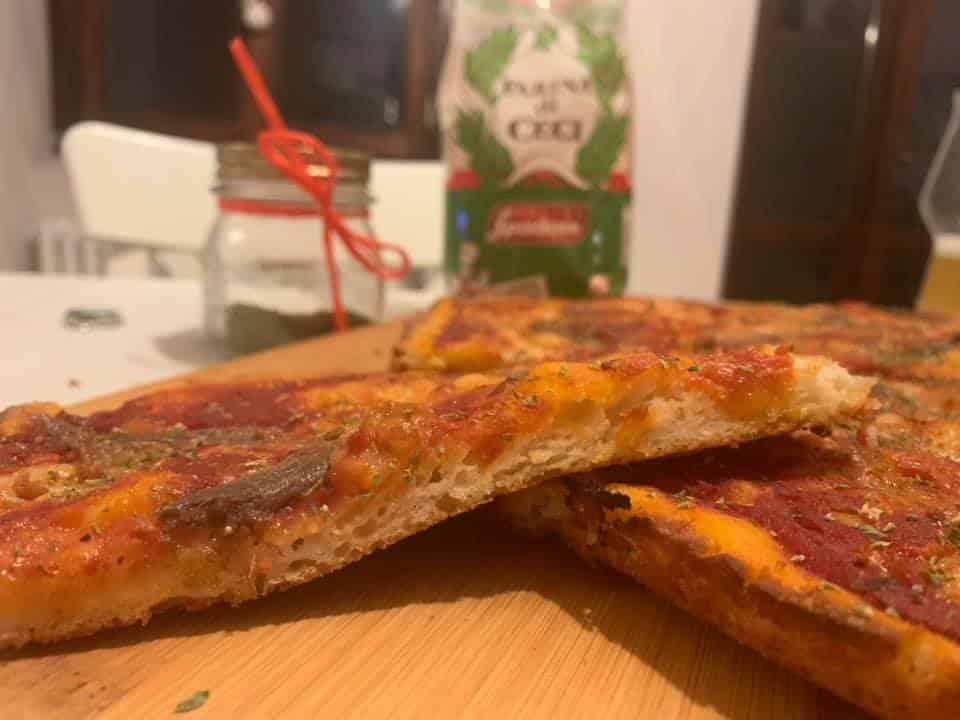 pizza teglia SENZA GLUTINE
