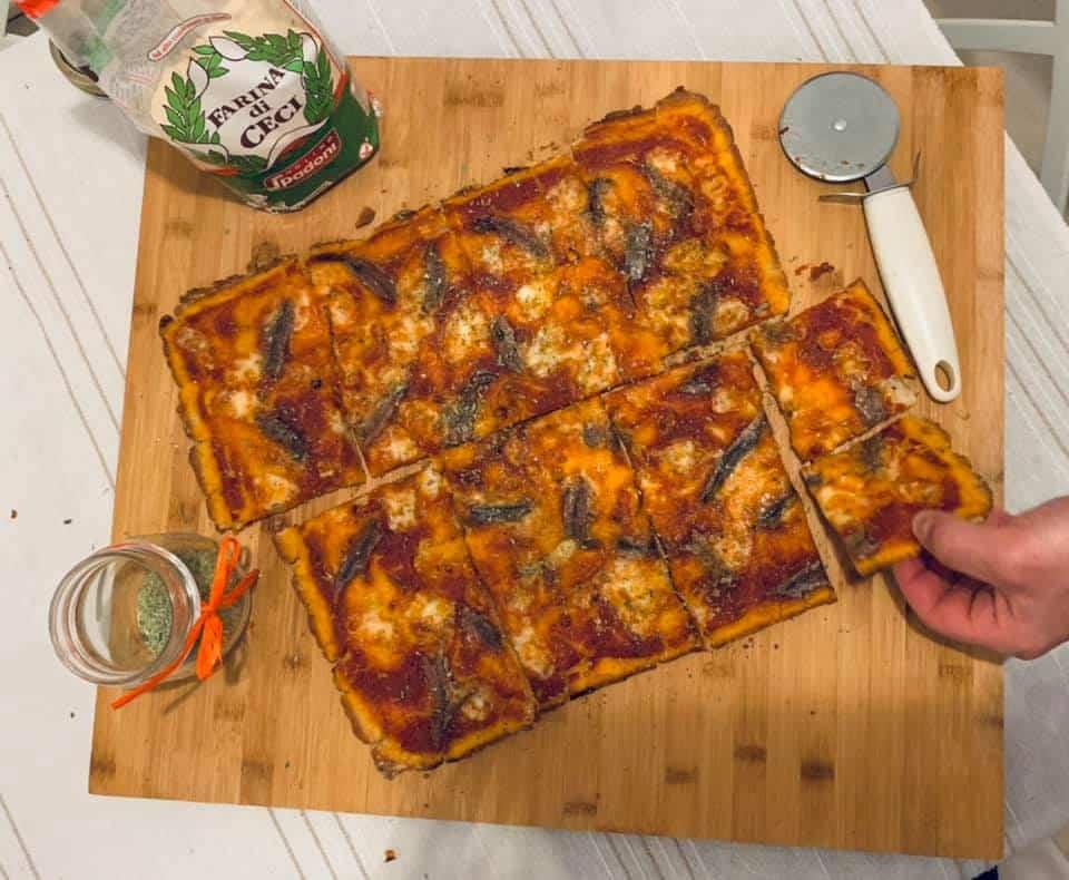Ricetta pizza in teglia SENZA GLUTINE