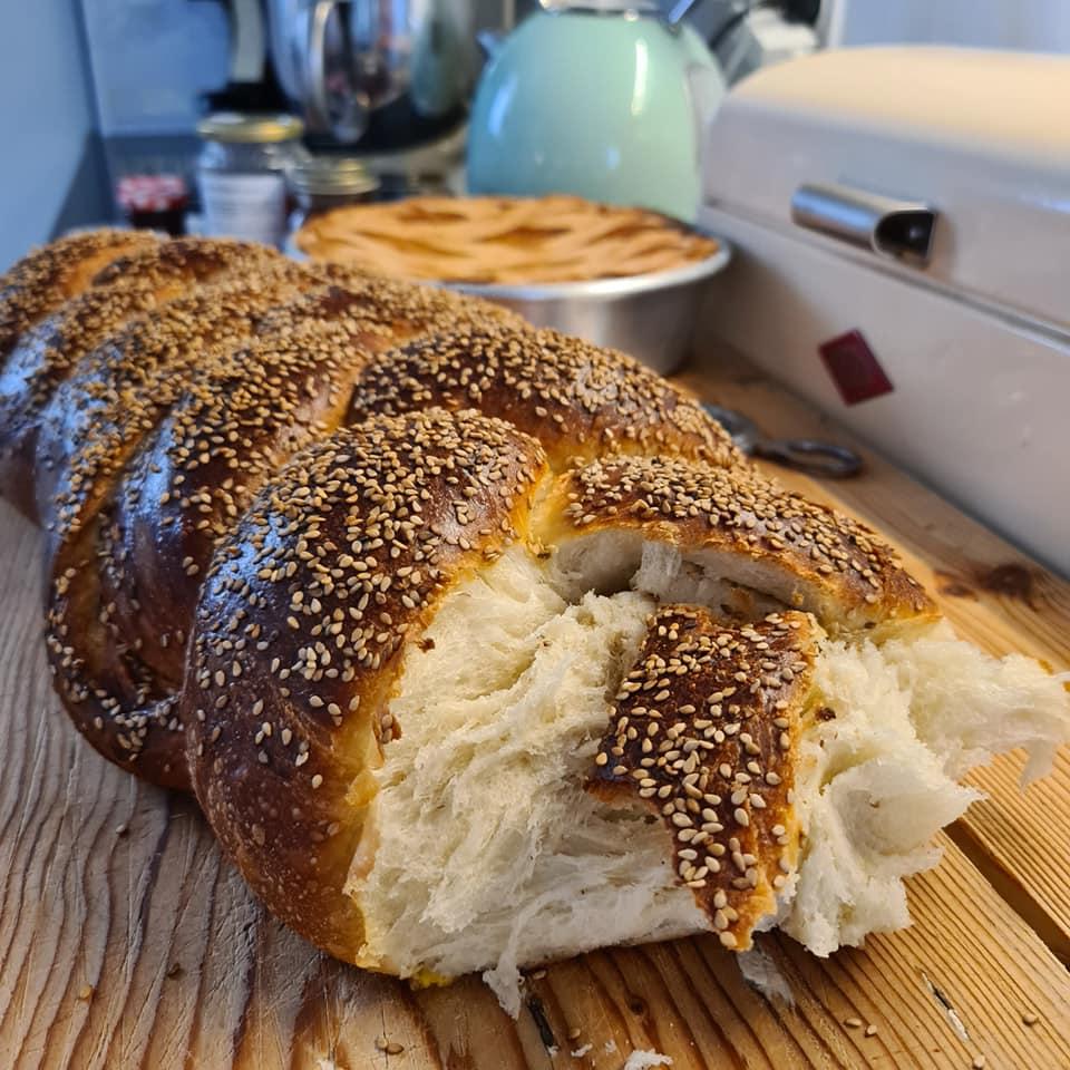 Treccia Pan Brioche
