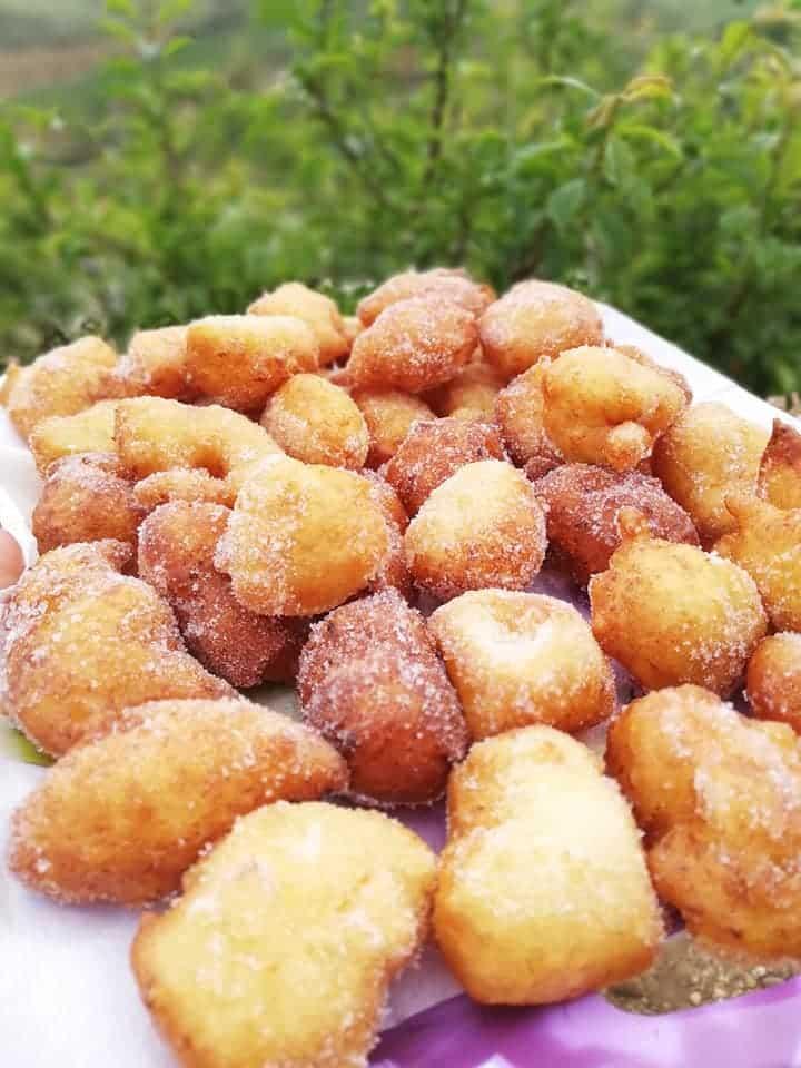 Ricetta dolce Sfinci siciliane con patate